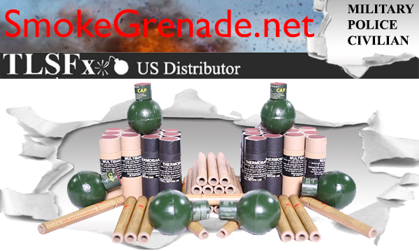 TLSFx Gen 1/2 Airsoft Grenades and Distraction Devices